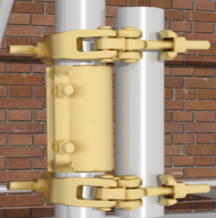 example of scaffold joint
